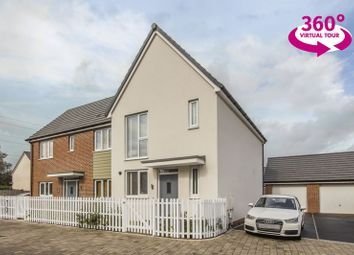 Thumbnail 3 bed semi-detached house for sale in Spencer Way, Newport