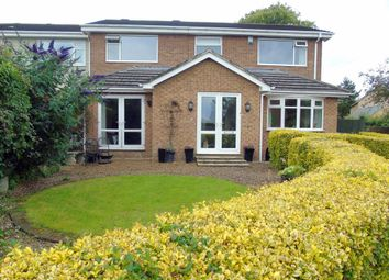 Thumbnail 4 bedroom semi-detached house for sale in The Limes, Stannington, Morpeth