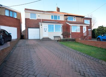 Thumbnail 4 bed semi-detached house for sale in Highfield Gardens, Chester Le Street