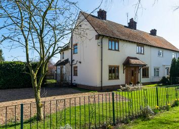 Thumbnail 4 bed semi-detached house for sale in Stow Road, Spaldwick, Huntingdon