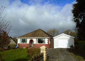 Thumbnail 3 bed detached bungalow for sale in Meinciau Road, Mynyddygarreg, Kidwelly, Carmarthenshire