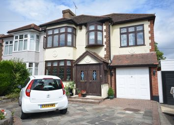 Thumbnail 4 bed semi-detached house for sale in Beltinge Road, Harold Wood
