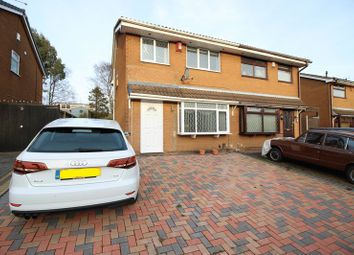Thumbnail 3 bed semi-detached house to rent in Loganbeck Grove, Longton, Stoke-On-Trent