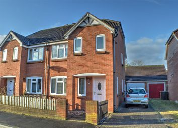 Thumbnail 3 bed semi-detached house for sale in Shrubwood Close, Heckington, Sleaford