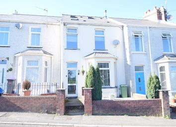 Thumbnail 3 bed terraced house for sale in Church Road, Pontnewydd, Cwmbran
