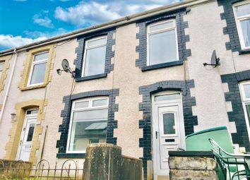 Thumbnail 3 bedroom terraced house to rent in Bryntaf, Aberfan, Merthyr Tydfil