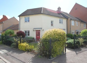 Thumbnail 3 bed link-detached house to rent in Rose Allen Avenue, Colchester