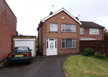 Thumbnail 3 bed semi-detached house for sale in Pulford Drive, Scraptoft, Leicester, Leicestershire