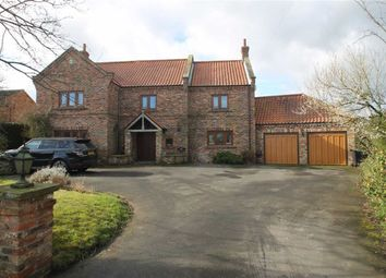 Thumbnail 4 bed detached house for sale in Station Road, Cattal, North Yorkshire