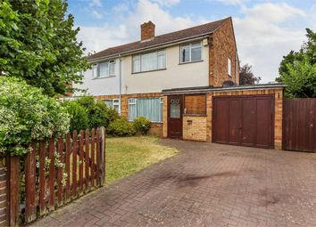 Thumbnail 3 bed semi-detached house for sale in Field Common Lane, Walton-On-Thames, Surrey