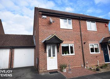 Thumbnail 2 bed semi-detached house for sale in Cropper Close, Thatcham