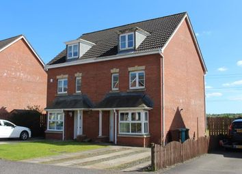 Thumbnail 4 bed semi-detached house for sale in Hopepark Drive, Smithstone, Cumbernauld, North Lanarkshire