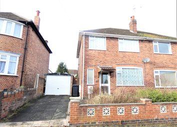 3 bed semi-detached house for sale in Dersingham Road, Stadium Estate, Leicester LE4