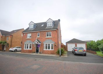 Thumbnail 6 bed detached house for sale in Leafield Close, Birtley, Chester Le Street
