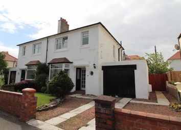 Thumbnail 3 bed semi-detached house for sale in Crandleyhill Road, Prestwick