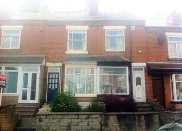 Thumbnail 2 bed terraced house to rent in Thimblemill Road, Bearwood, Smethwick