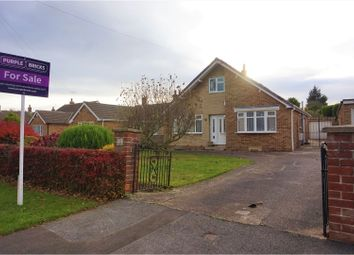 Thumbnail 3 bed detached bungalow for sale in Partridge Flatt Road, Bessacarr, Doncaster