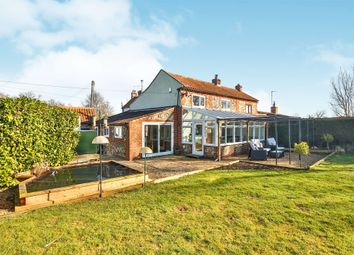 Thumbnail 3 bed semi-detached house for sale in Reepham Road, Bawdeswell, Dereham