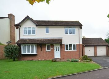 Thumbnail 4 bed detached house for sale in Pear Drive, Willand, Cullompton