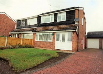 Thumbnail 3 bed semi-detached house for sale in Melrose Crescent, Market Drayton