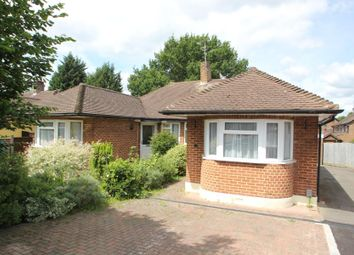 Thumbnail 3 bed semi-detached bungalow to rent in Meadway Drive, Horsell, Woking
