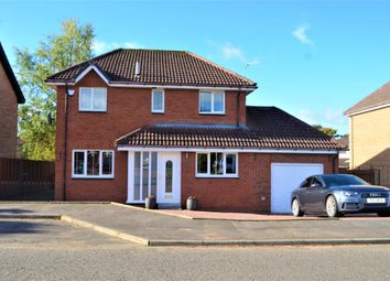 Thumbnail 4 bed detached house for sale in Morris Crescent, Motherwell, North Lanarkshire