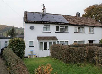 Thumbnail 3 bed semi-detached house to rent in Caegwyn, Llanidloes