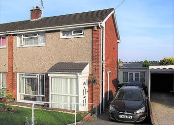 Thumbnail 3 bed semi-detached house for sale in Maes-Y-Rhedyn, Pontyclun