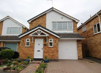 Thumbnail 3 bed detached house for sale in Coleman Road, Fleckney, Leicester