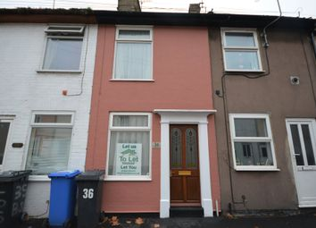 Thumbnail 1 bed terraced house to rent in Bevan Street West, Lowestoft, Suffolk