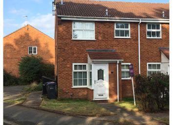 Thumbnail 1 bed end terrace house for sale in Bridge Piece, Birmingham