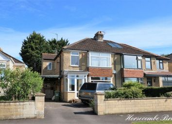 Thumbnail 3 bedroom semi-detached house for sale in Horsecombe Brow, Combe Down, Bath