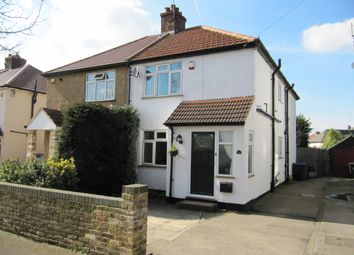 Thumbnail 3 bed semi-detached house for sale in Leacroft Road, Iver