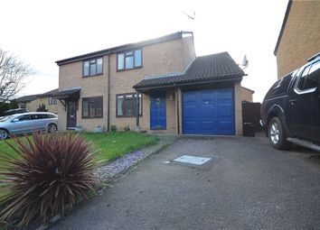 Thumbnail 3 bed semi-detached house for sale in Marefield, Lower Earley, Reading