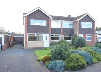 Thumbnail 4 bed semi-detached house for sale in Essex Drive, Stone, Staffordshire
