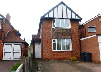 Thumbnail 4 bed detached house to rent in Gainsborough Road, Great Barr, Birmingham
