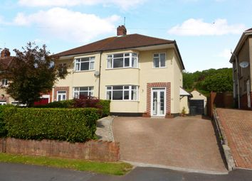 Thumbnail 3 bed semi-detached house for sale in Arbutus Drive, Coombe Dingle, Bristol