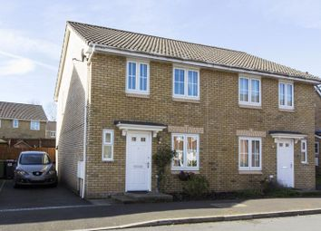 Thumbnail 3 bed semi-detached house for sale in Poplar Place, Llantarnam, Cwmbran