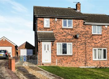 Thumbnail 3 bed semi-detached house for sale in Hill Farm Close, Thurnscoe, Rotherham