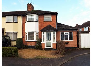 Thumbnail 3 bed terraced house for sale in Arundel Road, Birmingham