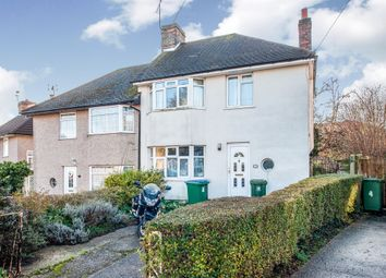 Thumbnail 3 bed semi-detached house for sale in Carisbrooke Avenue, Watford