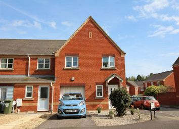 Thumbnail 3 bed end terrace house for sale in Lewis Crescent, Exeter