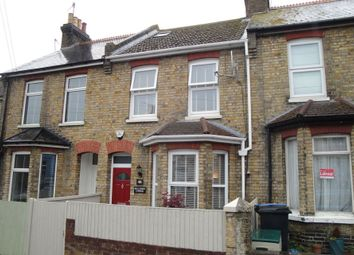 Thumbnail 3 bed terraced house for sale in Dane Park Road, Ramsgate