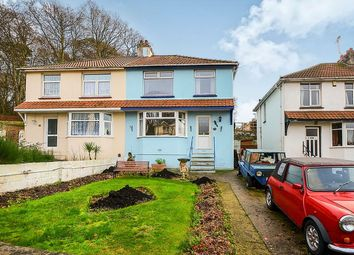 Thumbnail 3 bed semi-detached house for sale in St. Marychurch Road, Newton Abbot