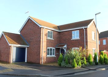 Thumbnail 4 bed detached house for sale in Post Mill Close, Lincoln