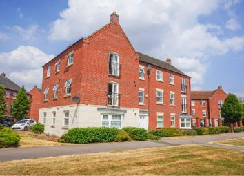 Thumbnail 2 bed flat for sale in Moorhen Close, Witham St Hughs