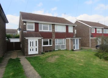 Thumbnail 3 bedroom semi-detached house to rent in Deer Park Road, Sawtry, Huntingdon