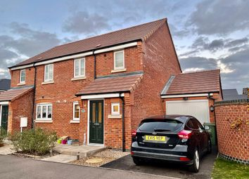 Thumbnail 3 bed semi-detached house for sale in Aitken Way, Loughborough