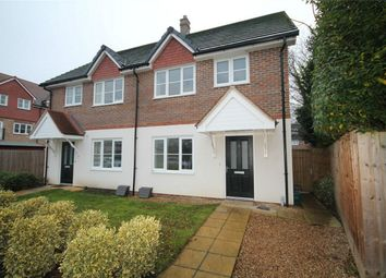 Thumbnail 4 bed semi-detached house to rent in Scholars Place, Walton-On-Thames, Surrey
