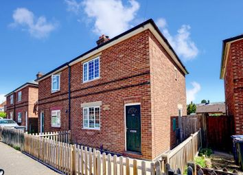 Thumbnail 2 bed semi-detached house for sale in Cowper Road, Huntingdon, Cambridgeshire.